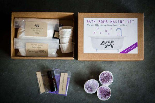 Raspberry Bath Bomb Kit