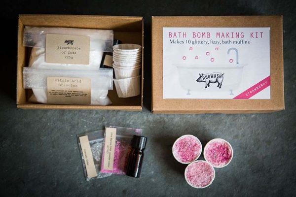 Strawberry Bath Bomb Kit