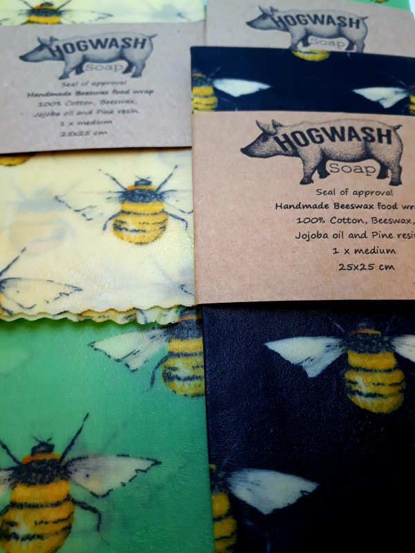 Bees Wax Food Wraps Pack of two