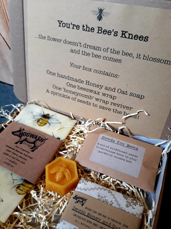 Bees Knees gift box. A gift box for the bee lover