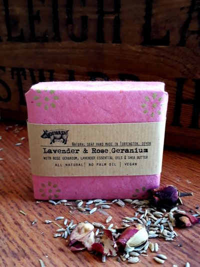 Lavender and Rose Geranium soap