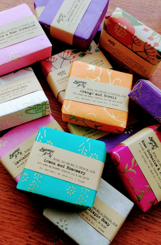 3 large soap selection